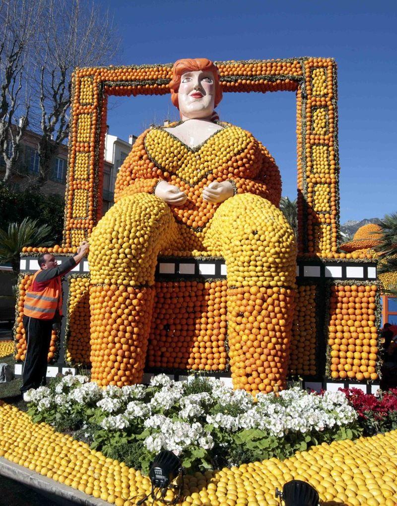 Festival do Limão, na Côte d'Azur
