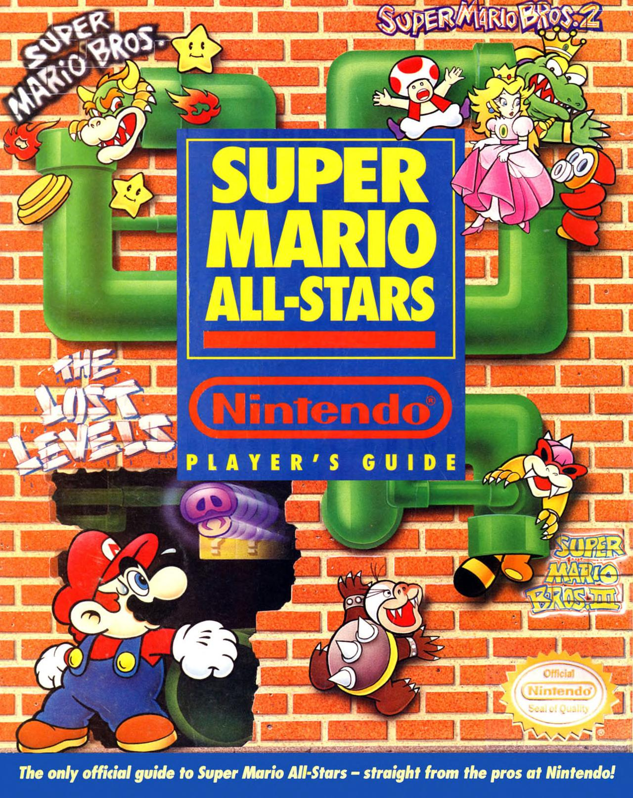 Nintendo Player S Guide Snes Super Mario All Stars 1993 Free Download Borrow And Streaming Internet Archive