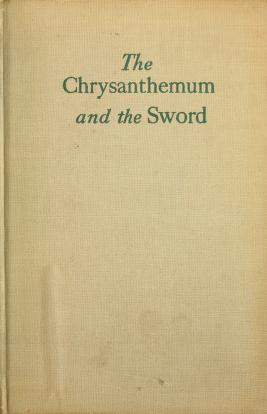 Cover of: The chrysanthemum and the sword   Ruth Benedict