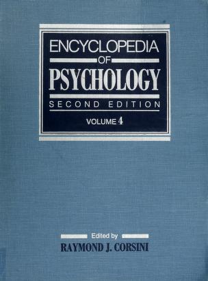 Cover of: Encyclopedia of psychology | Raymond J. Corsini, editor.