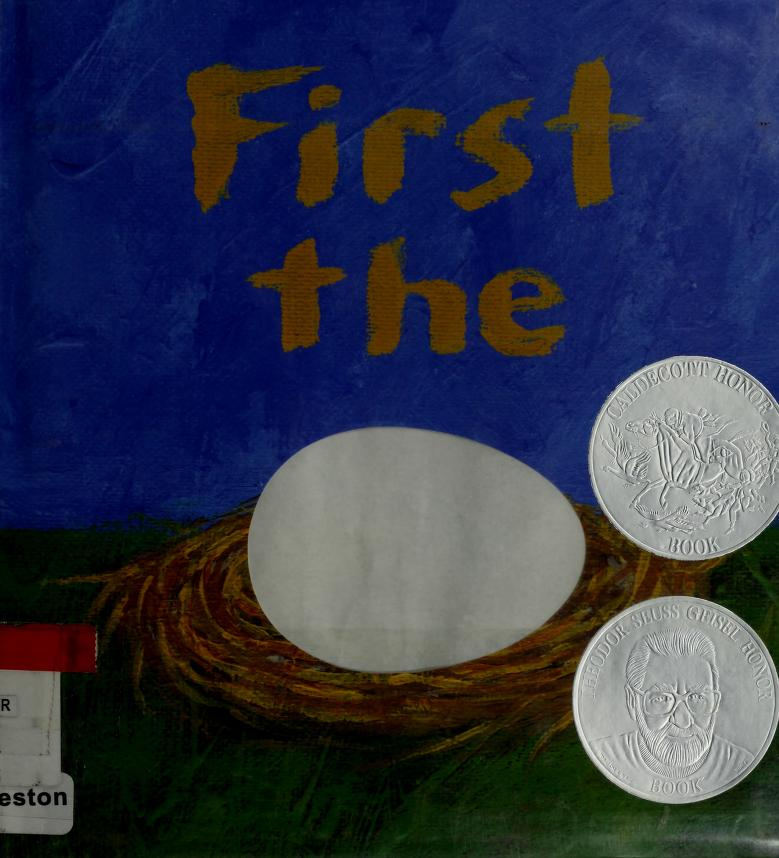 First the egg by Laura Vaccaro Seeger