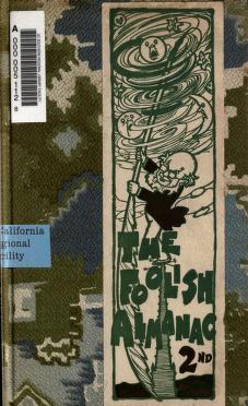 Cover of: The Foolish almanak for anuthur year |